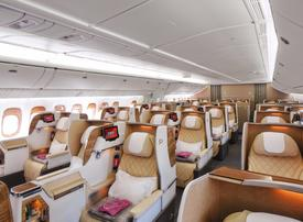 Emirates airline completes reconfiguration of second Boeing 777-200LR