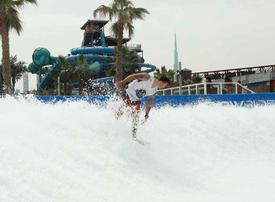 World champion to help aspiring surfers ride the waves at Dubai's Laguna Waterpark