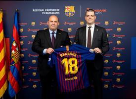 UAE's RAKBANK signs partnership with FC Barcelona