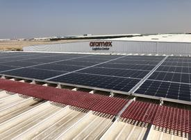 Dubai's Aramex launches solar plant to power logistics hub
