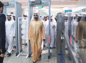 Gallery: Sheikh Mohammed carries out a surprise inspection at DXB