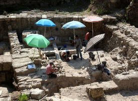 Archaeologists from the British Museum team unearthed a medieval defensive tower in Lebanon - in pictures