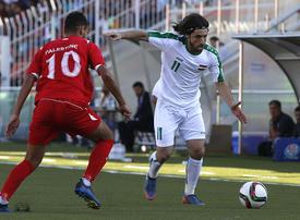 Iraq football team plays first match in Palestinian territories