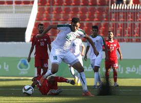 In pictures: Iraq's national football team plays first friendly match with Palestine in occupied West Bank