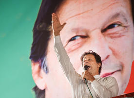 Pakistani PM Imran Khan vows to hold peace talks with India