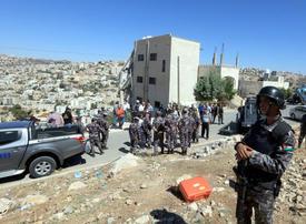 4 security force members, 3 terrorists killed in Jordan raid