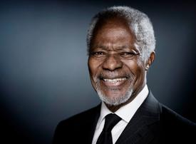 Kofi Annan: 'A guiding force for good'