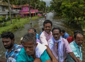 Flood-hit Kerala angry after UAE's $100m offer rejected