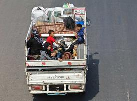 In pictures: Latest bomb attacks leaves over 30,000 displaced in Syria's Idlib province