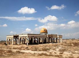 Destroyed Gaza airport symbolises grounded peace hopes