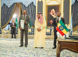 Ethiopia, Eritrea seek to bolster truce at Saudi summit