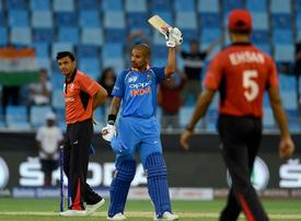 Asia Cup 2018: India avoid Hong Kong upset after Dhawan's hundred