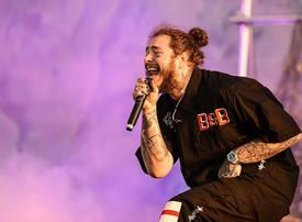 Post Malone to headline Thursday's after-race Abu Dhabi F1 concert