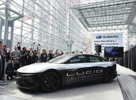 Saudi-backed Lucid in talks to partner with carmaker on electric vehicle tech