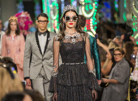 Video: Inside Dolce & Gabbana's first ever fashion show in Dubai