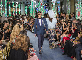 Dolce & Gabbana holds first fashion show in Dubai