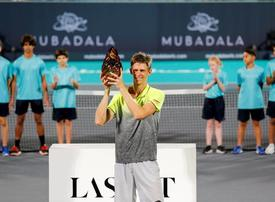 Champion Anderson to defend Abu Dhabi tennis title