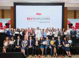 Aon names 'Best Employers in the Middle East'