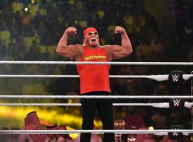 In pictures: WWE wrestlers clashed on Friday at the Crown Jewel extravaganza in Riyadh