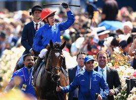 In pictures: Victory for Sheikh Mohammed's Godolphin on Melbourne Cup Day 2018