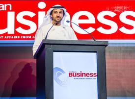 Abu Dhabi Financial Group CEO dedicates Arabian Business Achievement Award to team