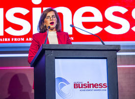 Winners stage: Arabian Business Achievement Awards 2018 - Iraqi candle-makers