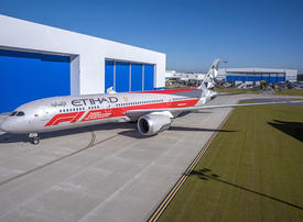 Etihad Airways unveils Abu Dhabi F1 10-year anniversary livery