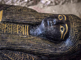 In pictures: Egyptian archaeologists unveils ancient tomb and sarcophagi in Luxor