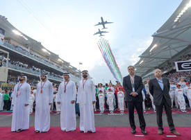 In pictures: UAE leaders attend the Formula 1 Grand Prix in Abu Dhabi