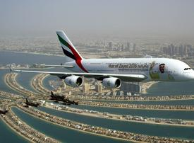 UAE carriers celebrate national day with 'Year of Zayed' aerial display