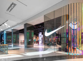 US sports giant Nike opens largest MidEast shop in Dubai