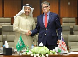 Saudi Arabia's energy minister meets US counterpart after OPEC cuts