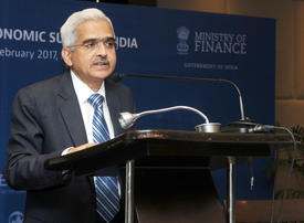 New India bank chief Shaktikanta Das vows to uphold its independence