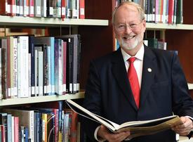 University challenge: AUS Chancellor Bjorn Kjerfve