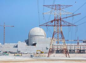 UAE's third nuclear plant hits key power testing milestone