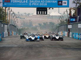 In pictures: Formula E motor racing Saudia Ad Diriyah ePrix in Riyadh