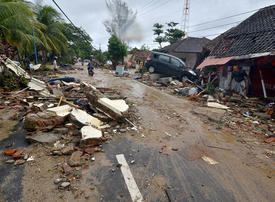 Dozens still missing after Indonesia tsunami