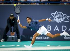 Tickets on sale for Mubadala World Tennis Championships