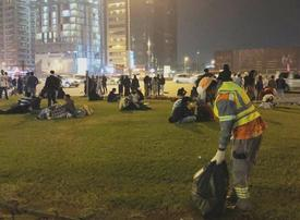 Dubai cleans up 87m tons of waste from NYE celebrations