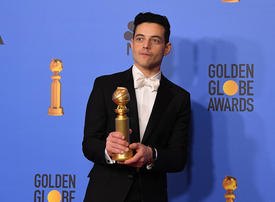 Rami Malek leads Bohemian Rhapsody's Golden Globes success