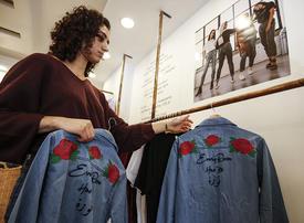 'Not your habibti': Palestinian designer seeks to empower women