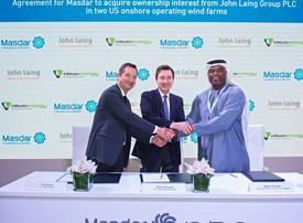 UAE's Masdar plans first US renewable energy investment