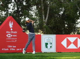 In pictures: Day one of the Abu Dhabi HSBC Championship kicks off at Abu Dhabi Golf Club