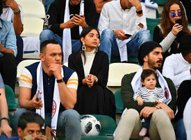 In pictures: Female soccer fans in Saudi Arabia attend Juventus training session