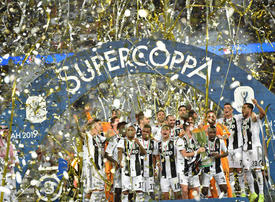 In pictures: Cristiano Ronaldo's Juventus secure first title of 2019