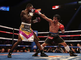 Pacquiao brushes past Adrien Broner in uneven welterweight bout