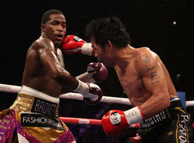 In pictures: Adrien Broner defeated by Filipino boxing star Manny Pacquiao