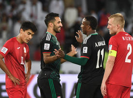 In pictures: UAE win over Kyrgyzstan 3-2 in Asian Cup