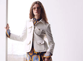 Chloe Calling: Deconstructed glamour and playful elegance in Fall 2019 collection