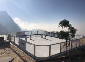 UAE reveals highest skating rink on Jebel Jais